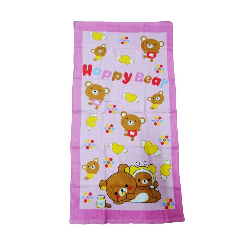 Dixon DX6222 Handuk Mandi Anak - Pink [50 x 100 cm]