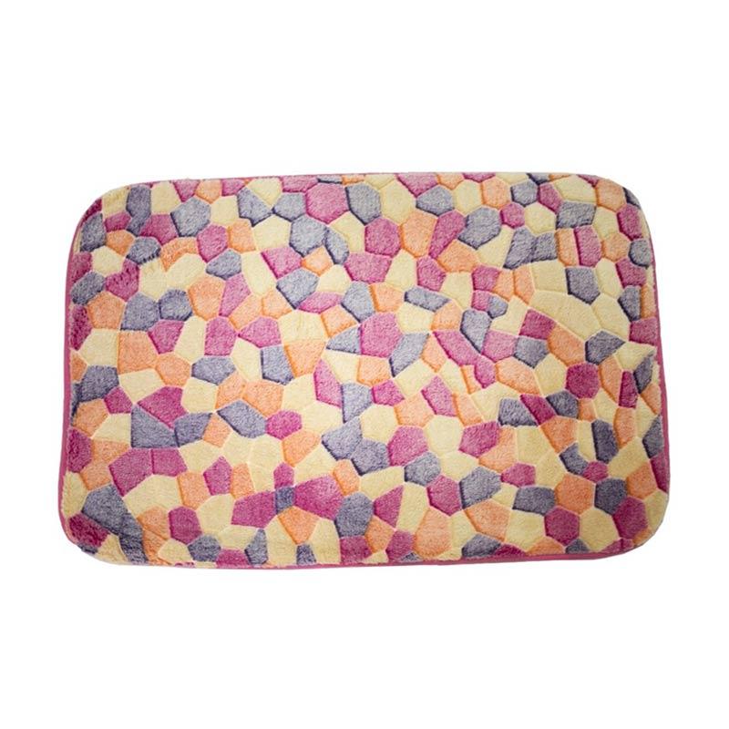 Dixon Motif Campur Colorful Mozaic Keset Busa - Multi Colour [40x60 cm]