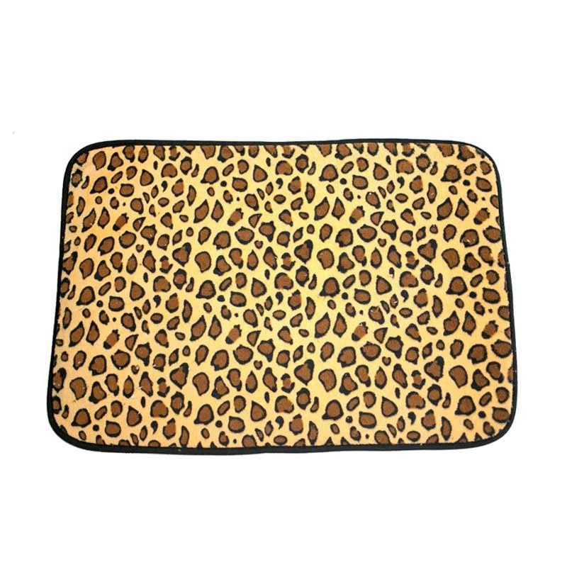 Dixon Motif Campur Leopard Keset Busa - Multi Colour [40x60 cm]