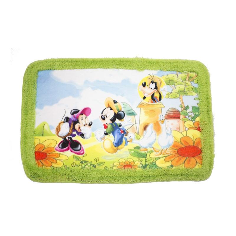 Jual Dixon Rumbai Character Mickey Farm Keset Busa - Multicolour [ 40x60 cm] Online -