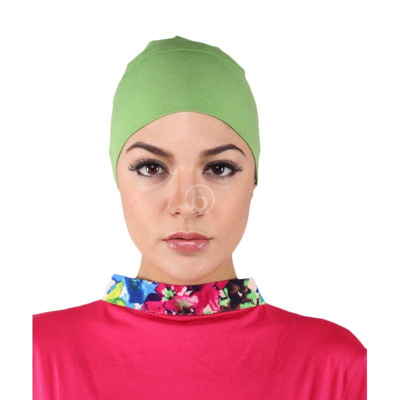Diyaz Inner Bandana Green Dalaman Hijab