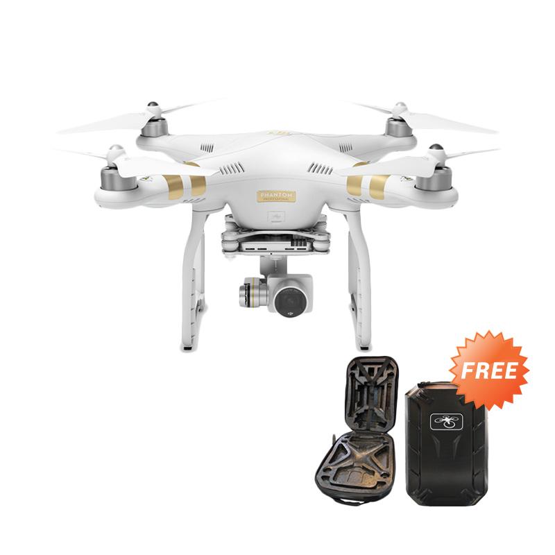 DJI Phantom 3 Profesional Video Kamera Drone - Free Hardcase Bag