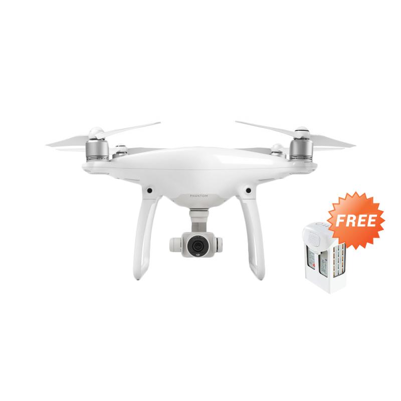DJI Phantom 4 Drone + Free One Extra Battery