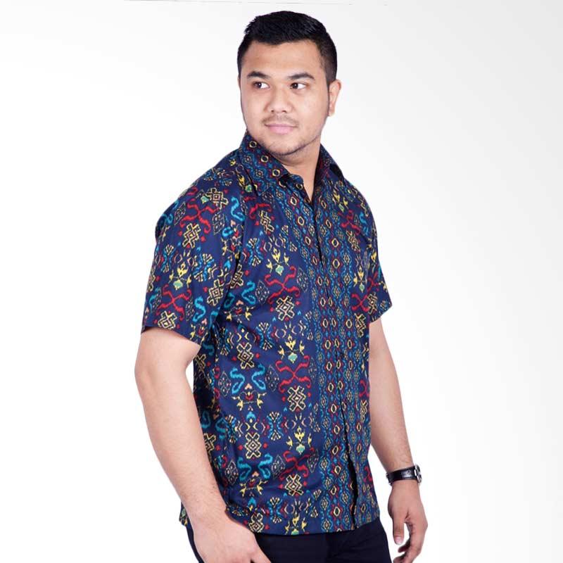 Djoeragan LK303 Kemeja Batik Pria Modern