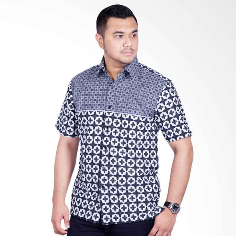 Djoeragan LK305 Kemeja Batik Pria Modern