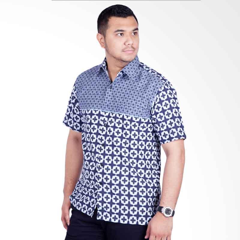 Djoeragan LK306 Kemeja Batik Pria Modern