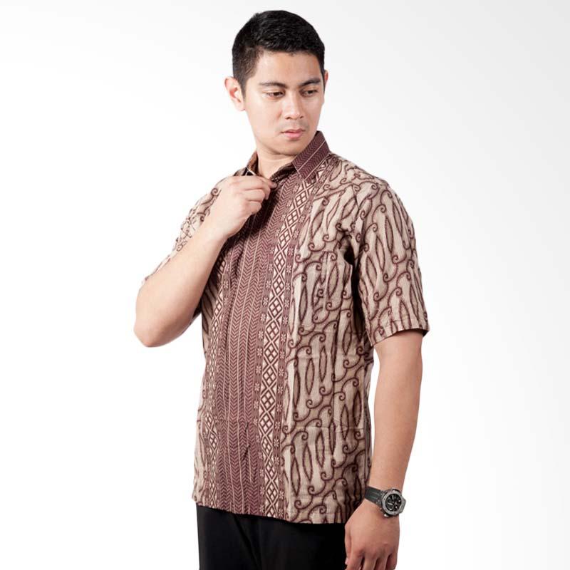 Djoeragan LK4a Kemeja Batik Pria Modern