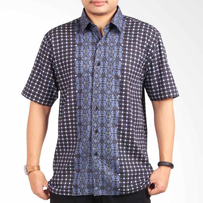 Djoeragan Modern LK08 Kemeja Batik Pria