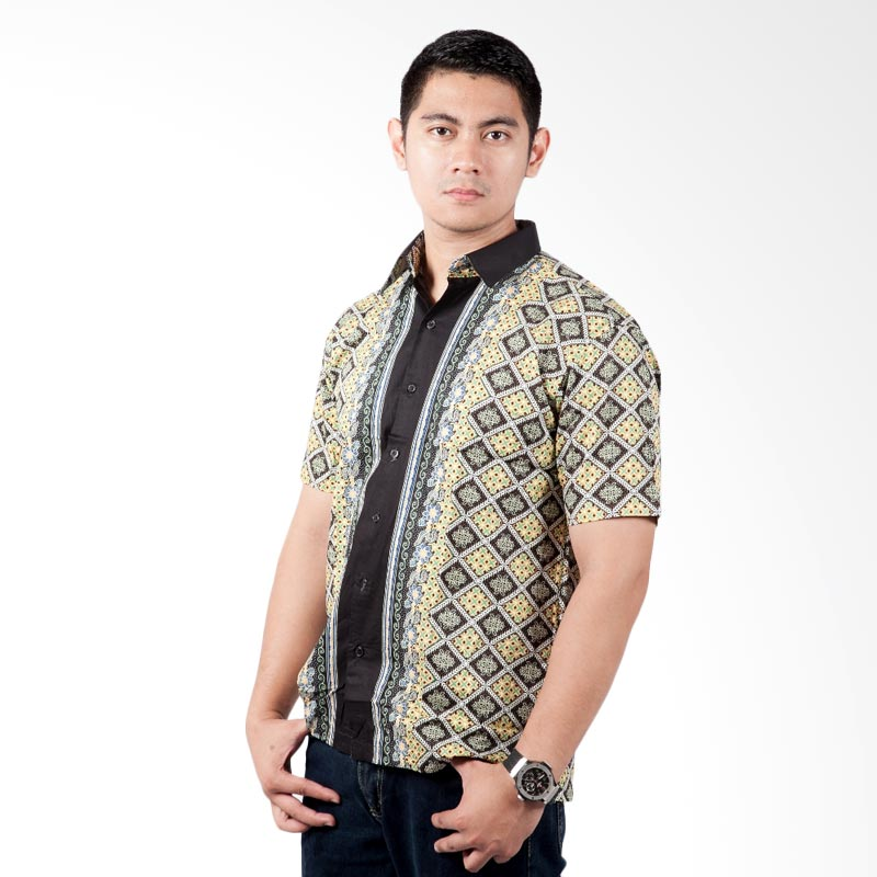 Djoeragan Modern LK211 Kemeja Batik Pria
