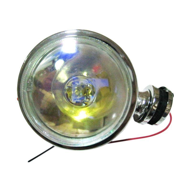 DLAA AZ1026RB FOG Lamp Universal Rainbow Lampu Depan Mobil