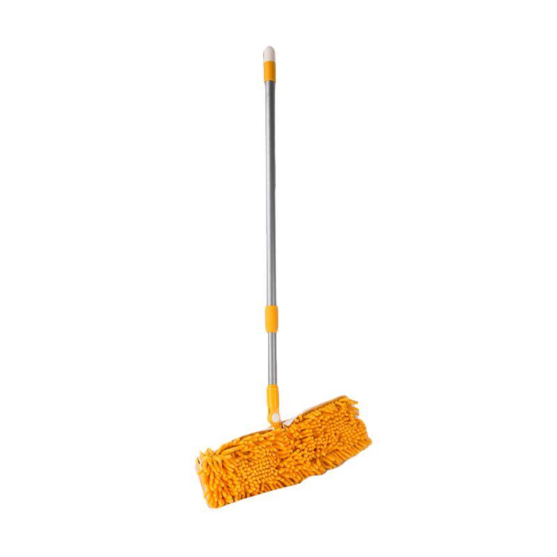 Pongs Cleanhomz Tele Alu Chenille Yellow Tongkat Pel