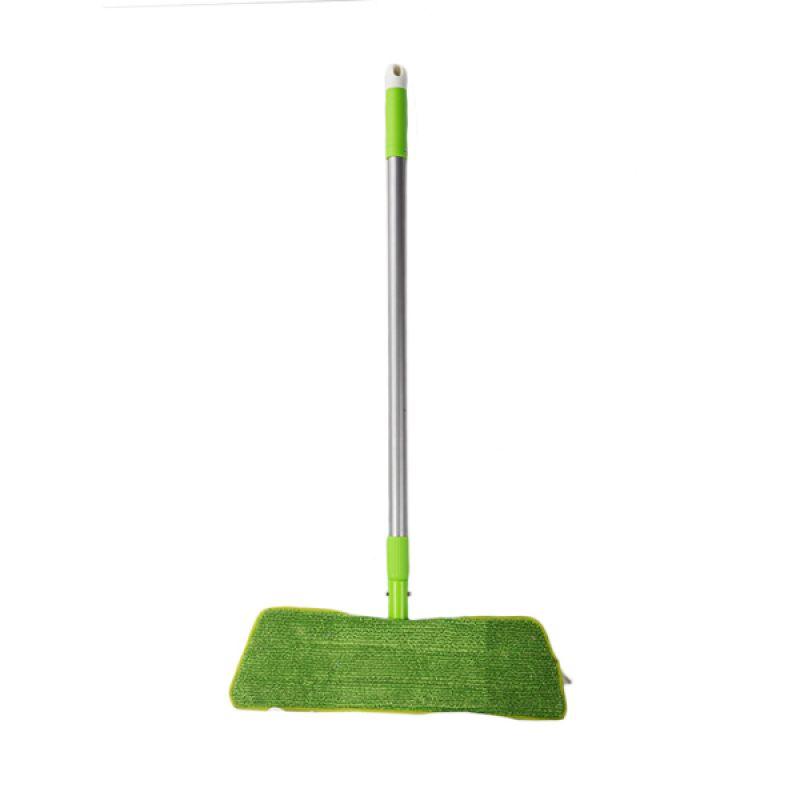 Pongs Cleanhomz Tele Steel Microfiber Green Floor Mop Tongkat Pel