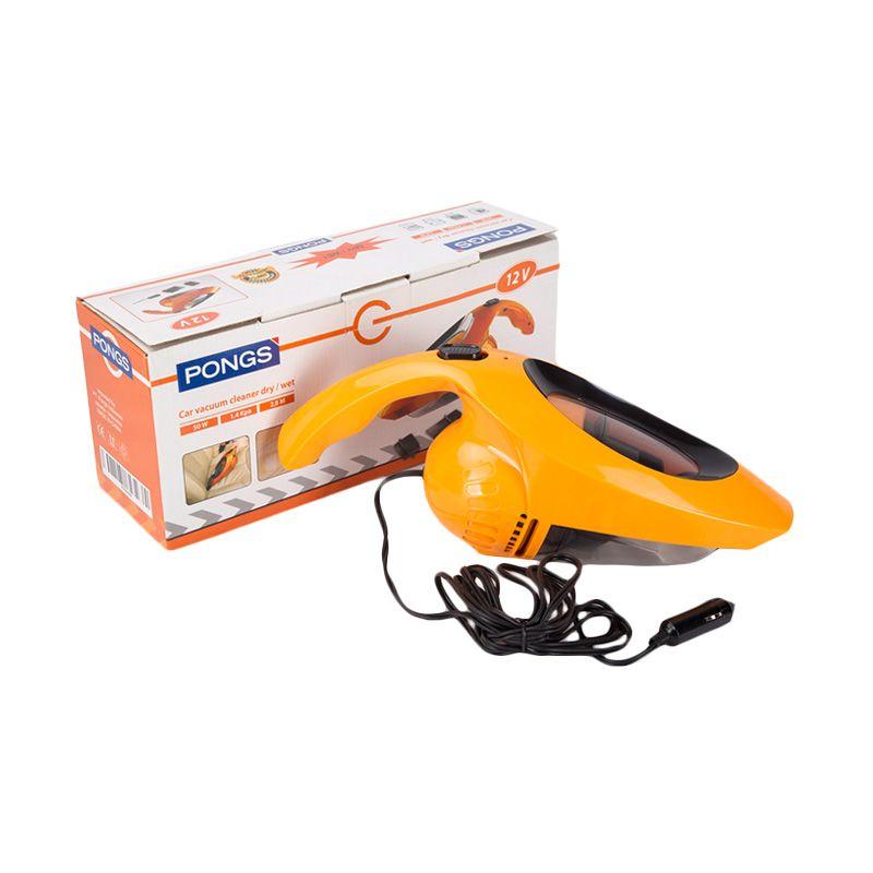 Pongs Dry or Wet Cvc-104 Car Vacuum Cleaner [50W-12V]