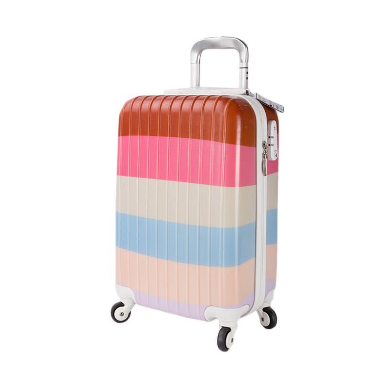 True Traveller Apc Jh014 Pink Rainbow Koper [20 Inch]