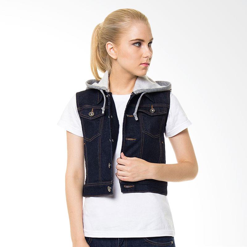 People's Denim Ladies Aryssa Dark Hoodie Vest