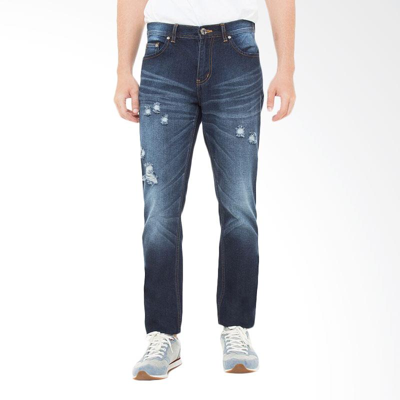 People's Denim Men Jeans Throne - Biru
