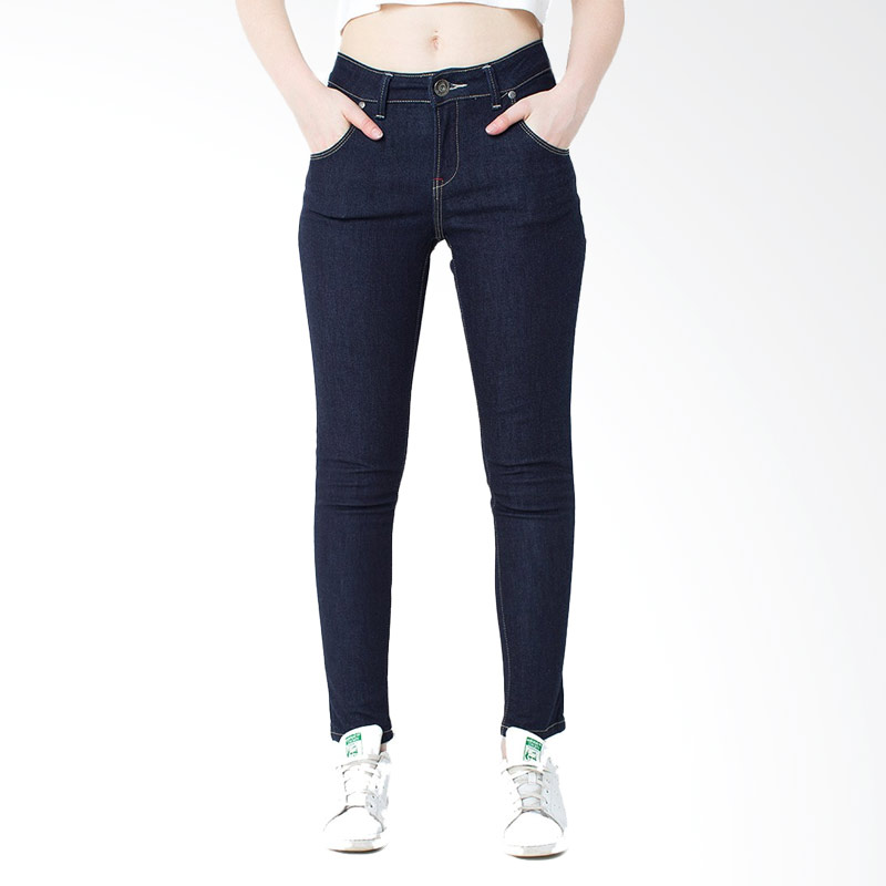People's Denim Ladies Jeans Stitchers - Dark Blue