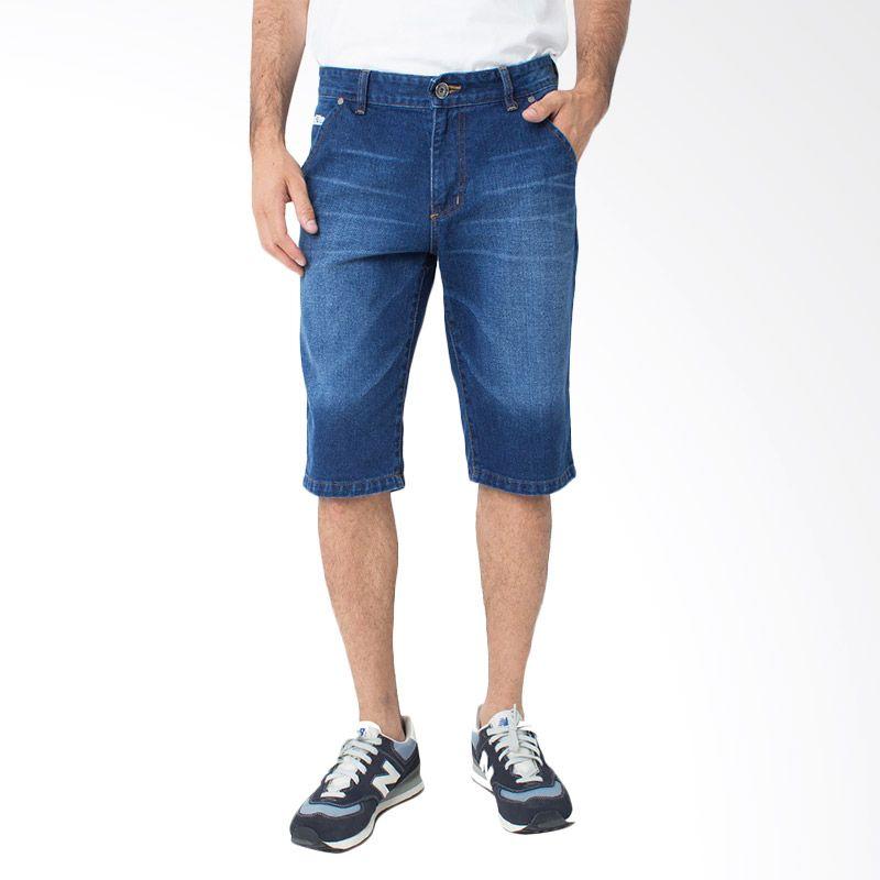 DocDenim Draco Short Blue Celana Jeans Pria