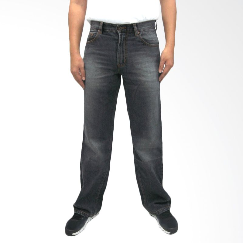 Docdenim Space Grey Celana Jeans Pria