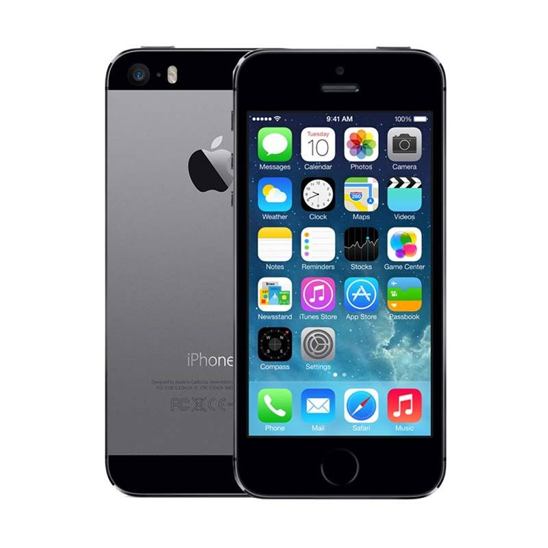 Apple iPhone 5S 16 GB Grey Smartphone [Refubish]