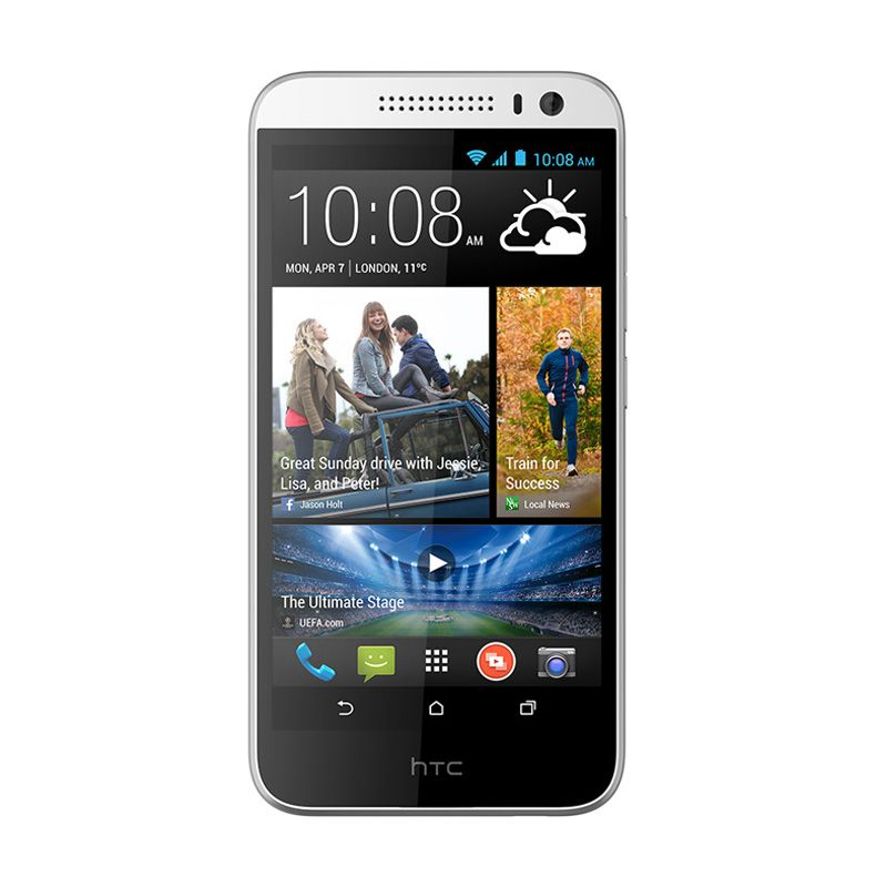 HTC Desire 616 Putih Smartphone [Dual SIM]