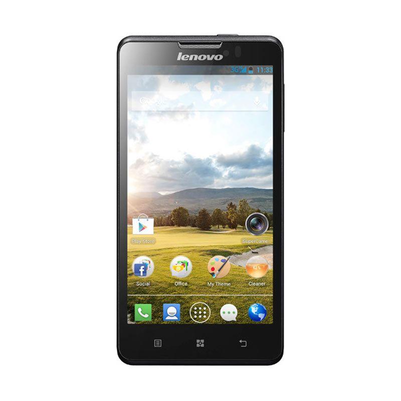 Lenovo P780 Dual SIM Hitam Smartphone