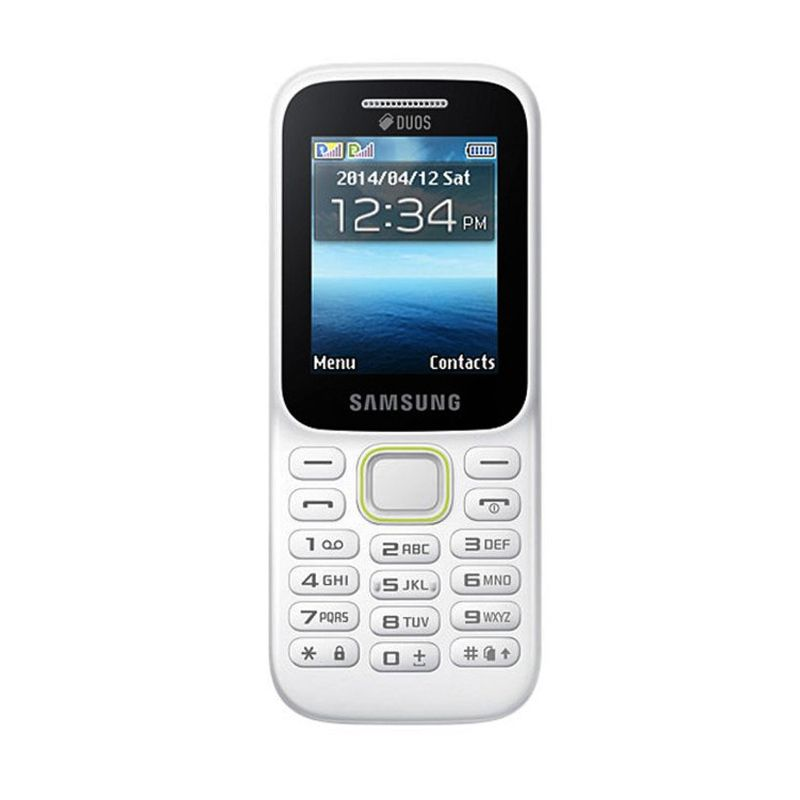 Samsung B310E Putih Handphone [Garansi Resmi]