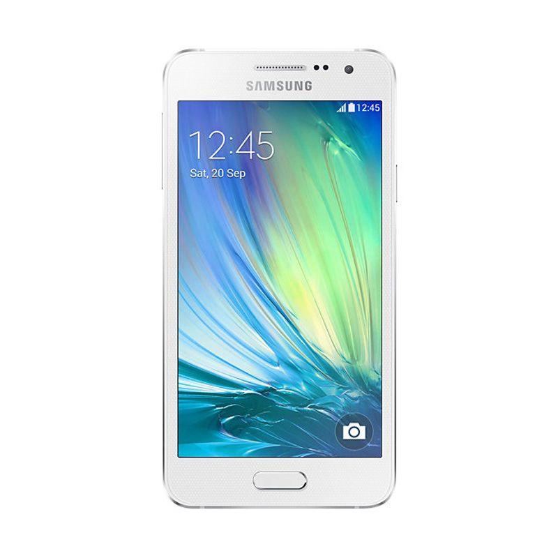 Samsung Galaxy A3 Putih Smartphone