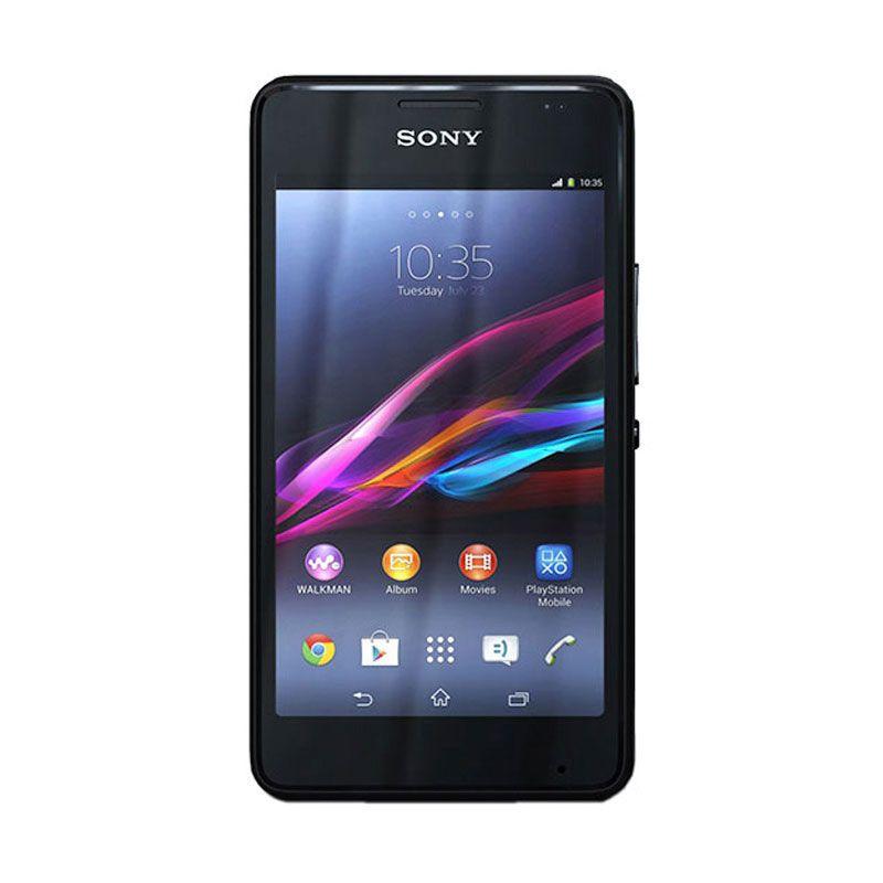Sony Xperia E1 Hitam Smartphone