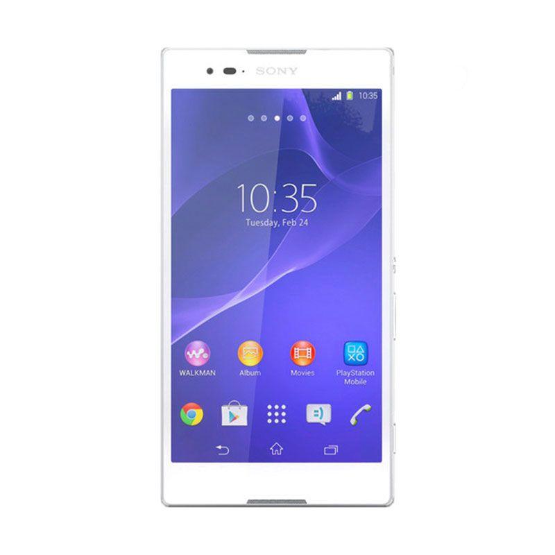 Sony Xperia T2 Ultra Putih Smartphone