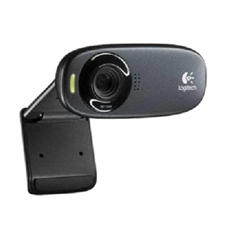 Logitech C310 HD Black Webcam
