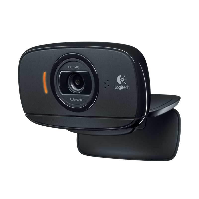 Logitech C525 HD Black Webcam