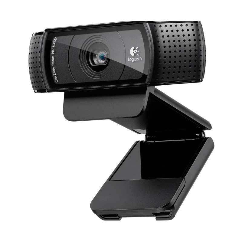 Logitech C920 HD Pro Black Webcam [Carl Zeiss Lens]