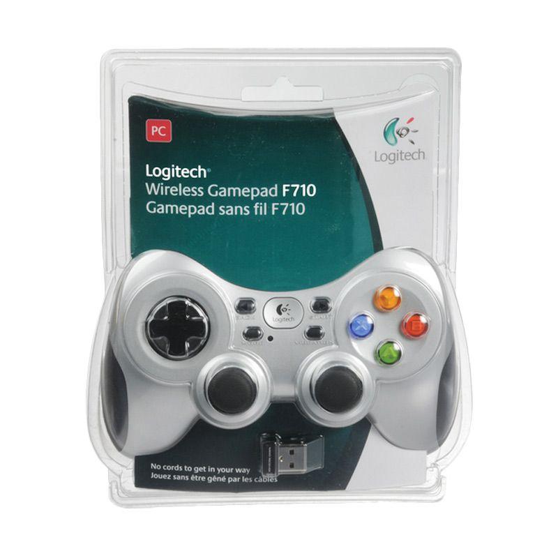 Logitech F710 Grey Black Wireless Gamepad