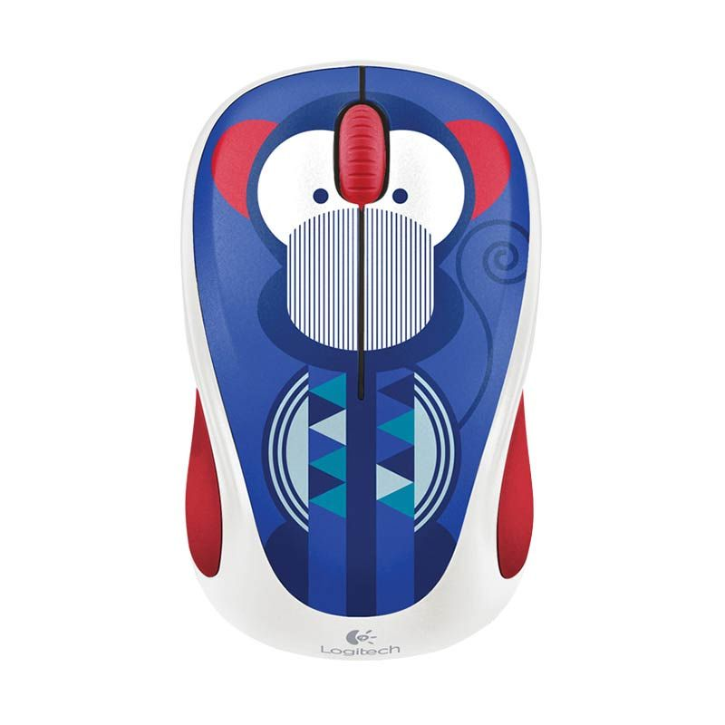 Logitech M238 Marc Monkey Wireless Mouse