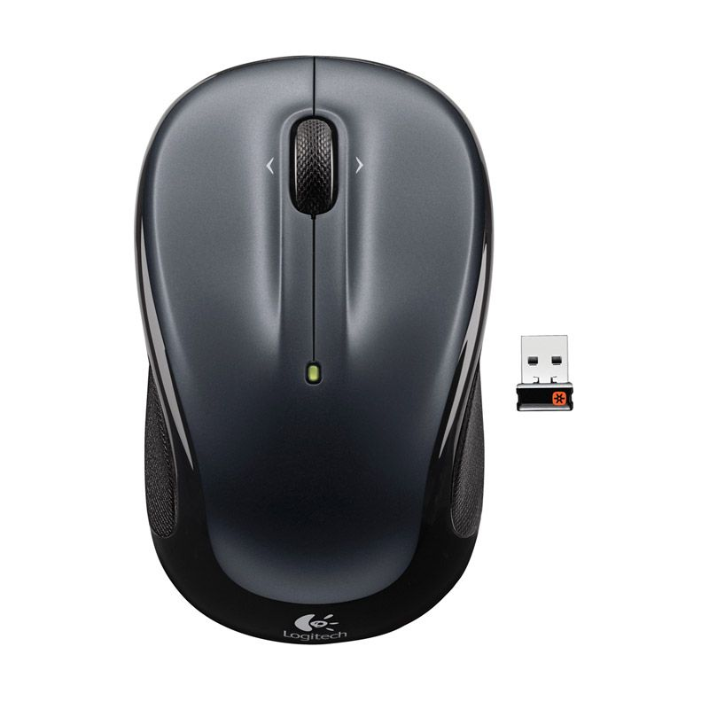 Logitech M325 Dark Silver Wireless Mouse