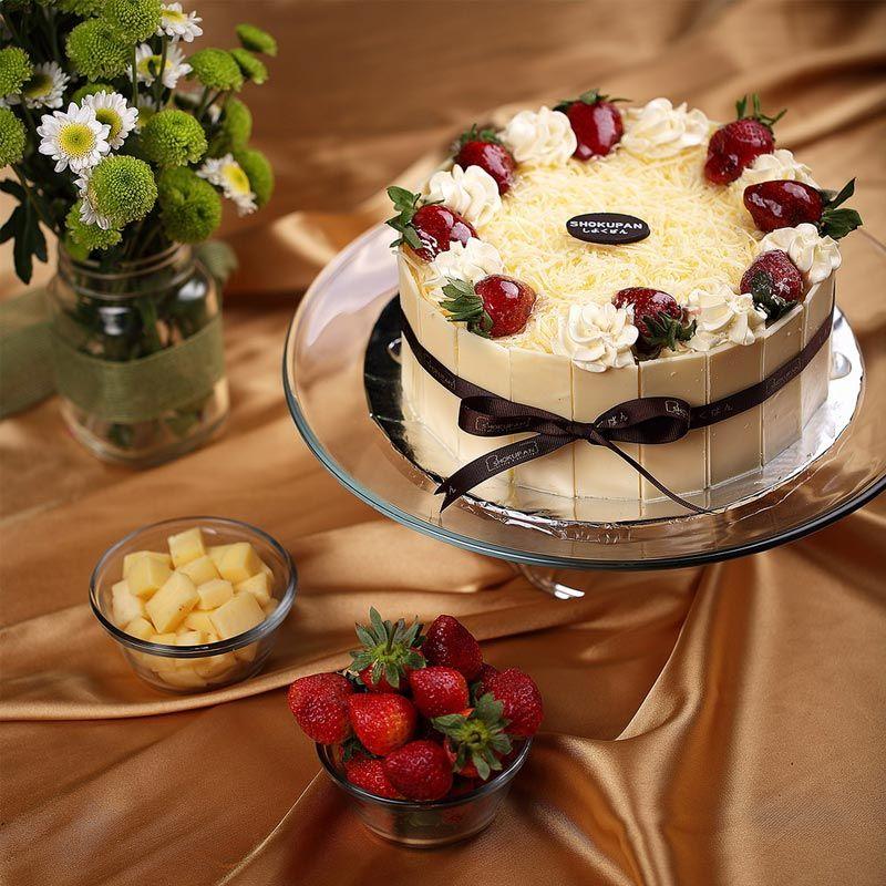 Vanilla Cream Cheese Cake Kue