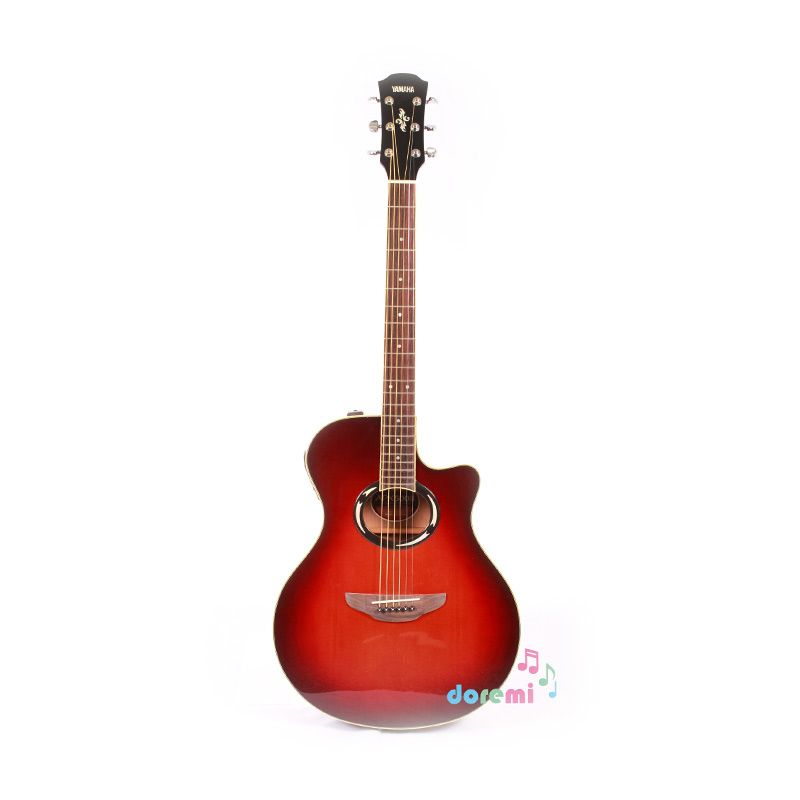 Yamaha Electric Acoustic Guitar APX-500II Dark Red Burst