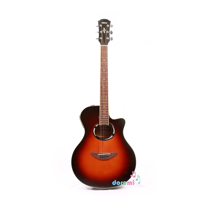 harga Yamaha Electric Acoustic Guitar APX-500II Old Violin Sunburst Blibli.com