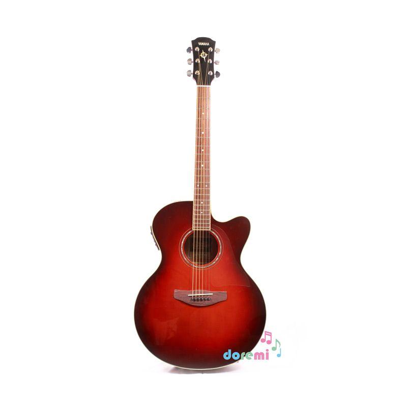 harga Yamaha Electric Acoustic Guitar CPX-500II Dark Red Burst Blibli.com