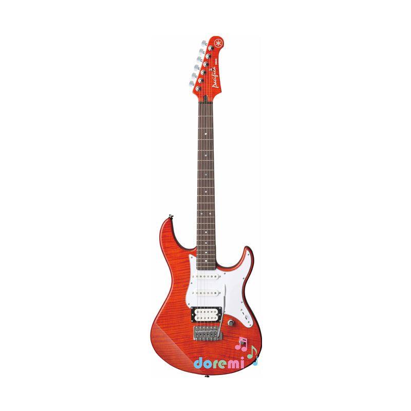 Yamaha Electric Guitar PAC-212 VFM Caramel Brown