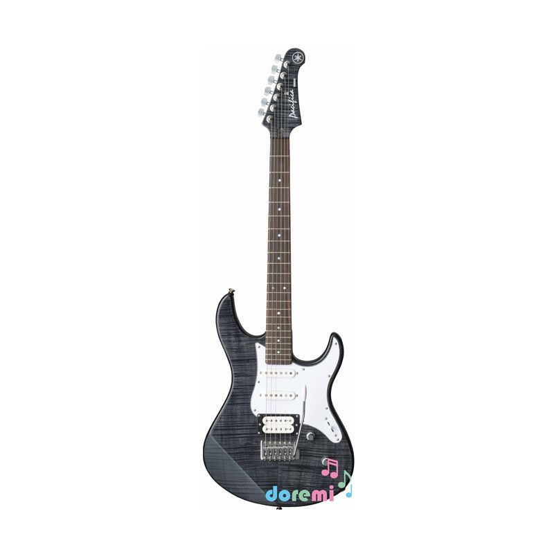 Jual Yamaha Electric Guitar PAC 212 VFM Translucent Black