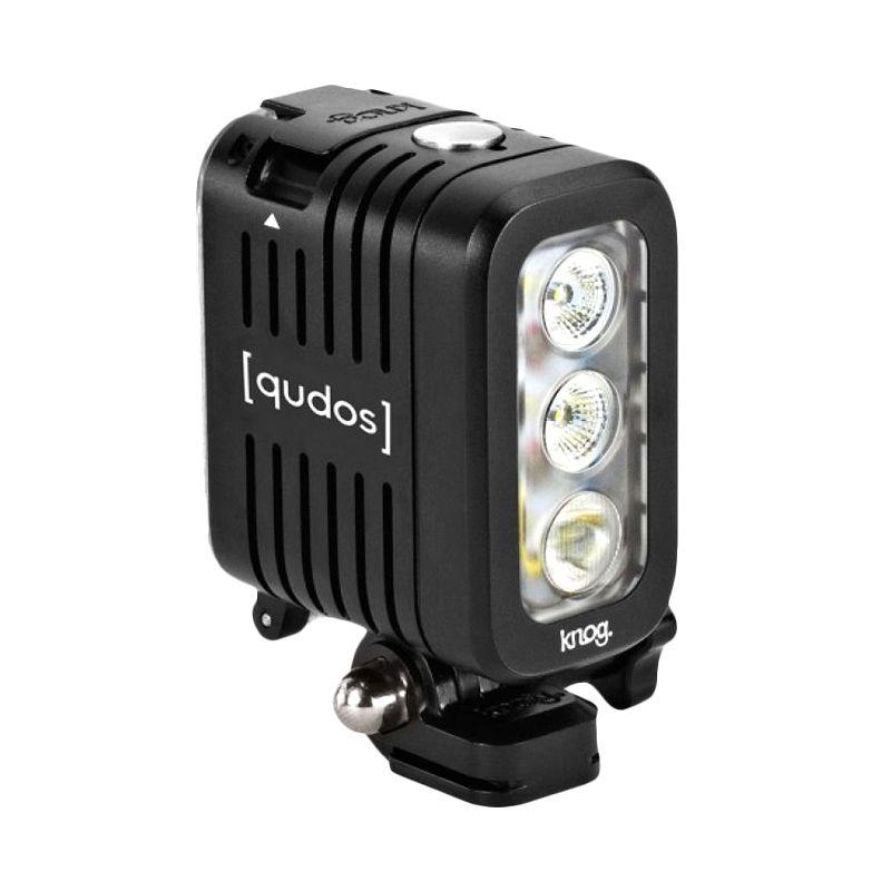 Qudos Action Sport Camera Light Black Flash Kamera
