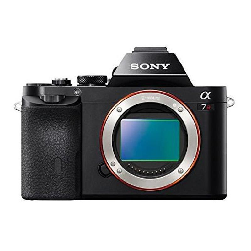 Sony Alpha 7r Hitam Kamera Mirrorless [Body Only]