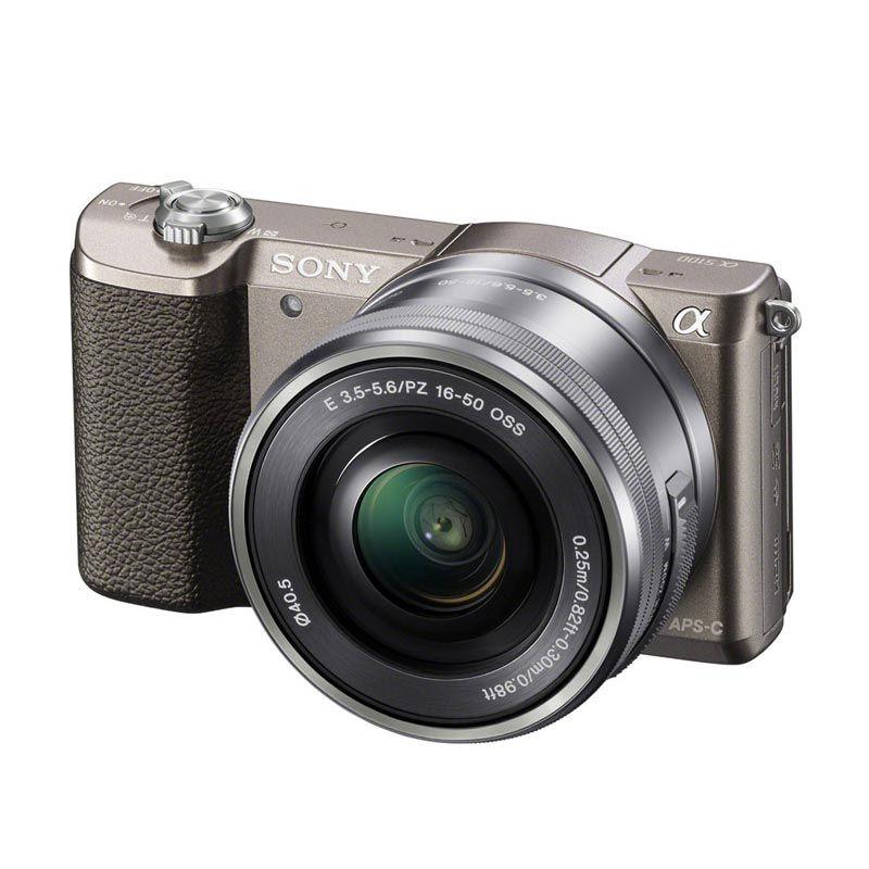 Sony Alpha a5100L 16-50mm Bronze Kamera Mirrorless