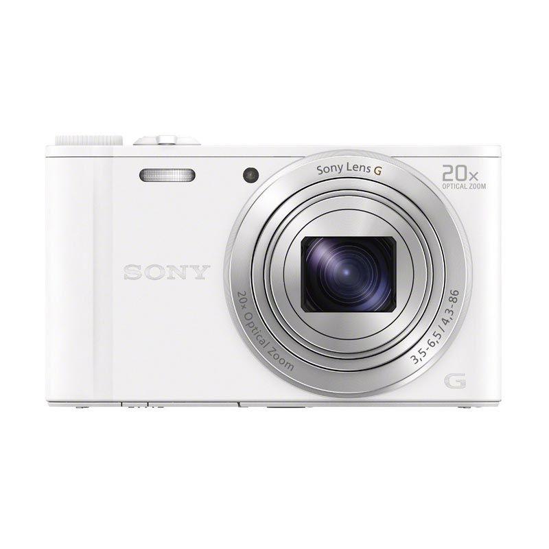 harga Sony Cyber-shot DSC-WX350 Putih Kamera Pocket Blibli.com