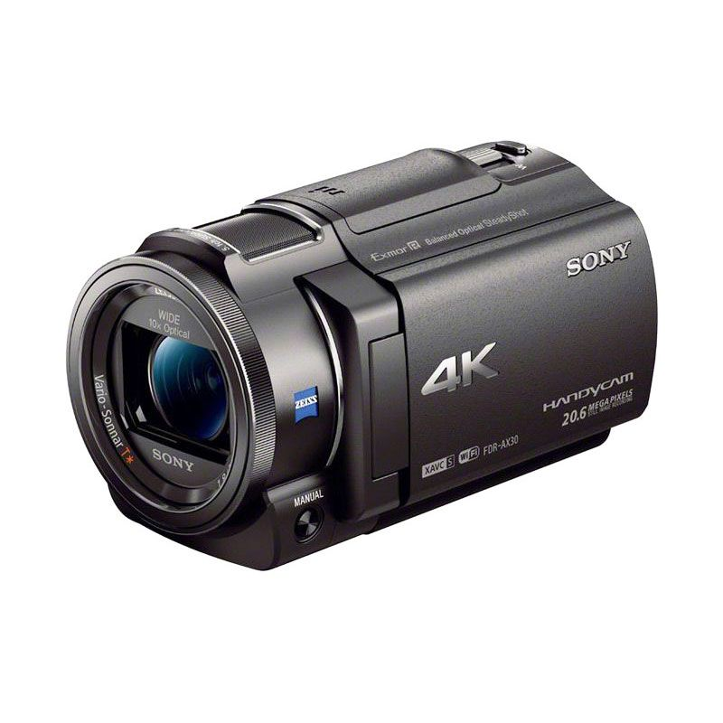 Sony FDR-AX30 4K Camcorder