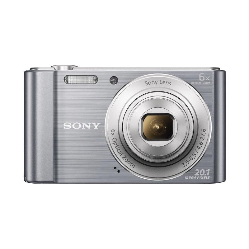 Sony W810 Kamera Digital Silver Kamera Pocket