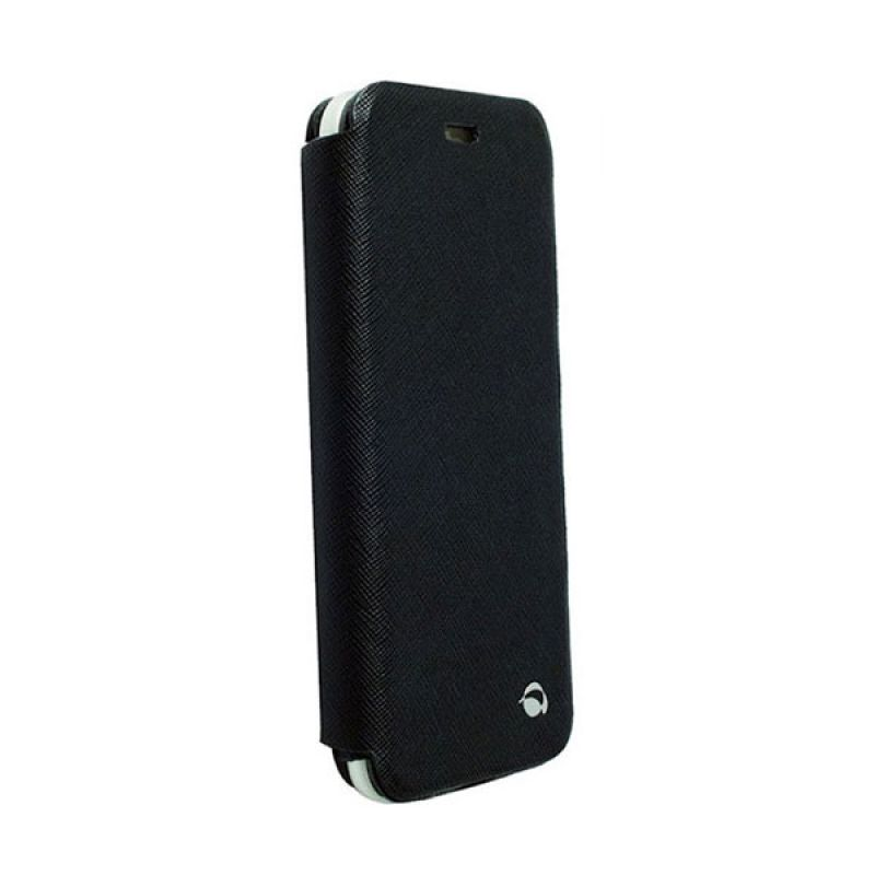 Krusell Flip Case Malmo Stand For Apple iPhone 6 Hitam