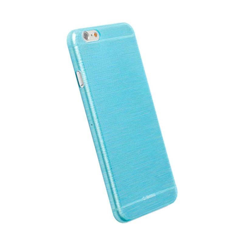 Krusell FrostCover iPhone 6 Transparent Biru